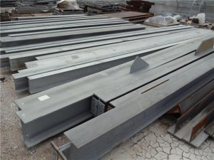 Iron beams_scrap metal recycling houston