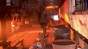 Smelting_scrap metal recycling houston