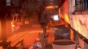 Smelting_scrap metal recycling houston