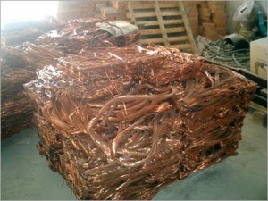 selling copper scrap in Houston