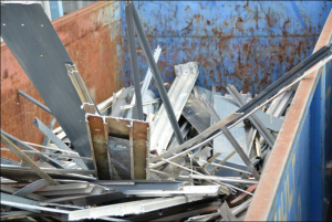 Houston Scrap Metal company Gulf Coast Scrap Metal offers free container service!