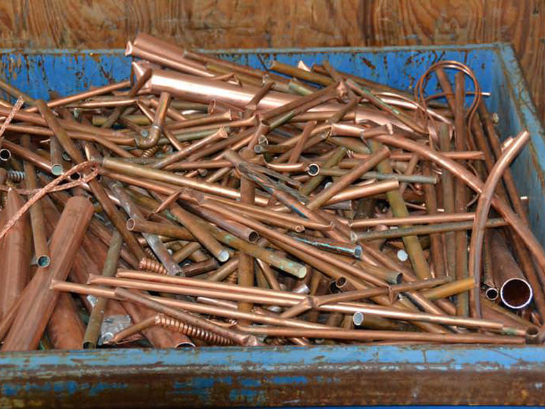 Scrap Copper Pipe