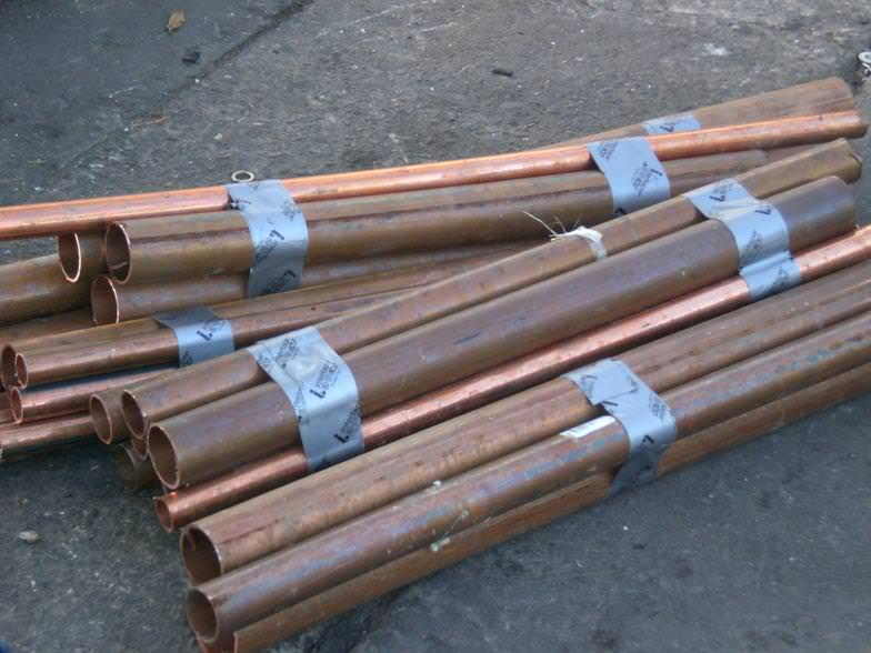 Scrap Copper Tubbing